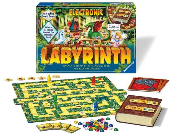 Electronic Labyrinth: Save the Wizard!