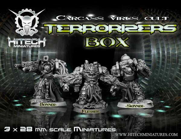 (Morbid Angels) Terrorizers, Carcass Virus Cult Box Set #1