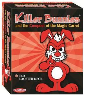 Killer Bunnies: Conquest Red Booster Deck