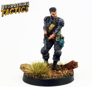Neuroshima Tactics: Outpost - Captain Berg