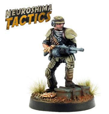 Neuroshima Tactics: Outpost - Storm Trooper (2)