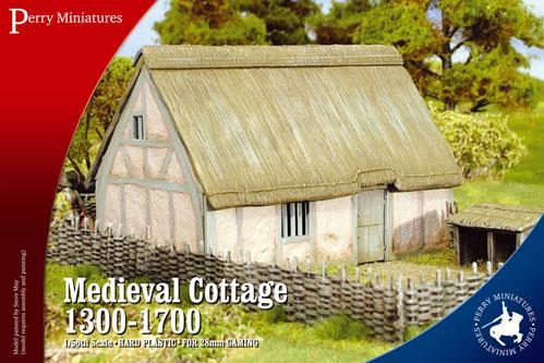 28mm Historical: Medieval Cottage 1300-1700
