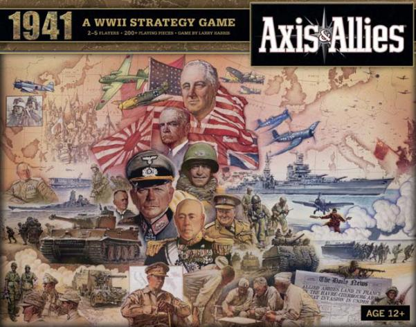 Axis & Allies Board Game: 1941