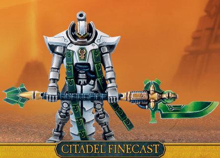 Citadel Finecast Resin: Vargard Obyron