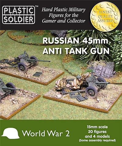 15mm WWII (Soviet): Anti tank gun