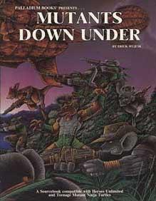 After the Bomb RPG Book Three: Mutants Down Under