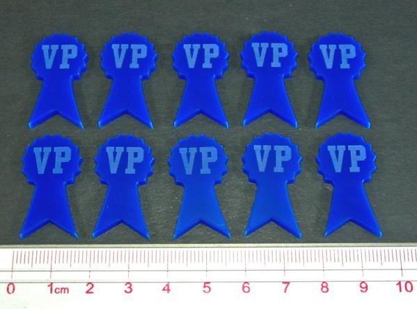 Tokens & Markers:Victory Point Tokens (10) (Blue)