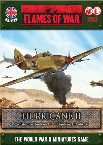 Flames Of War (WWII): (British) Hurricane II
