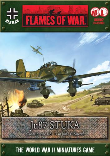 Flames Of War (WWII): (German) JU87 Stuka