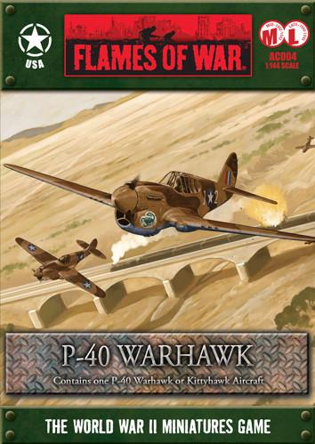 Flames Of War (WWII): (USA) P-40 Warhawk