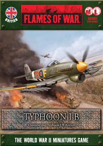 Flames Of War (WWII): (British) Typhoon 1B