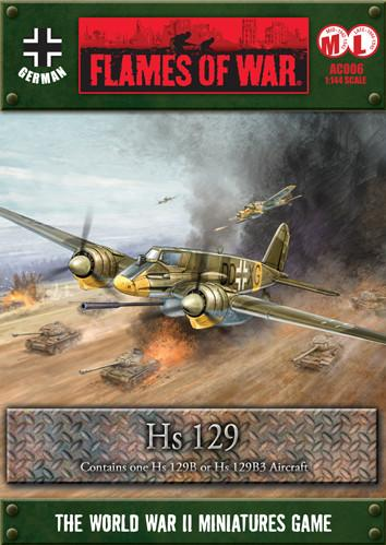 Flames Of War (WWII): (German) Hs129