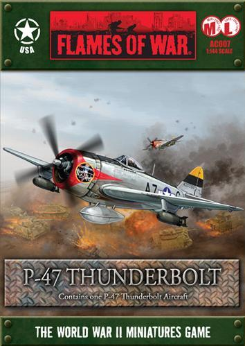 Flames Of War (WWII): (USA) P-47 Thunderbolt