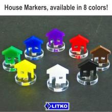 House Markers (White)
