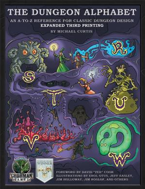 Dungeon Alphabet: Expanded (System Neutral Sourcebook)