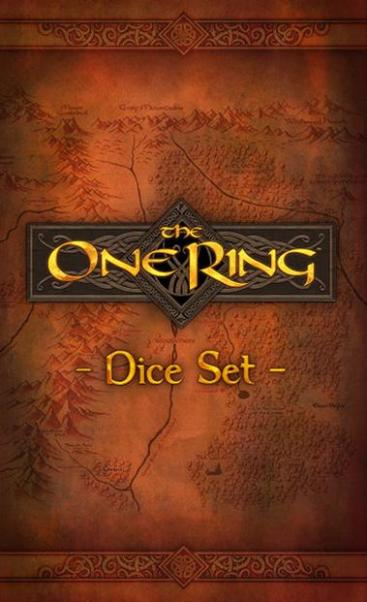 The One Ring RPG: The One Ring Dice Set