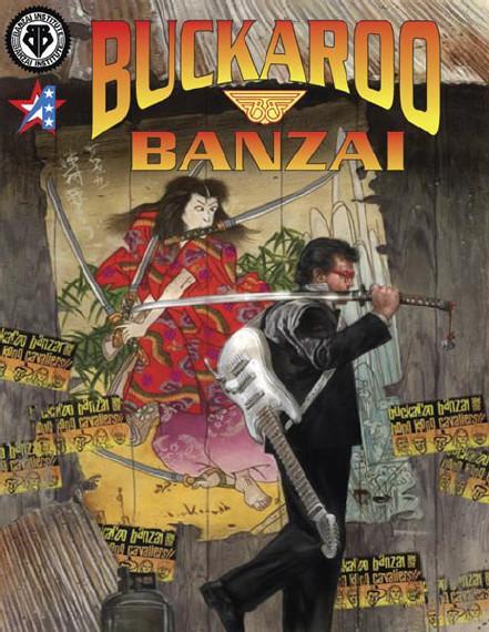 Buckaroo Banzai Adventure Game