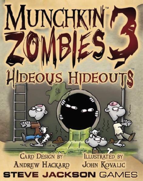 Munchkin Zombies 3: Hideous Hideouts (Expansion)