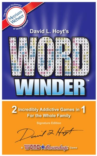 Word Winder: Two Games in One!