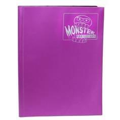Monster Binders: Matte Coral Purple (9-Pocket)