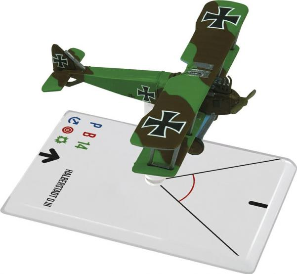 Wings Of Glory WWI Miniatures: Halberstadt D.III (Camouflage)