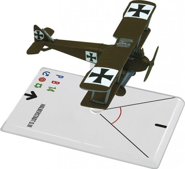 Wings Of Glory WWI Miniatures:  Halberstadt D.III  (Luftstreitkr�fte)