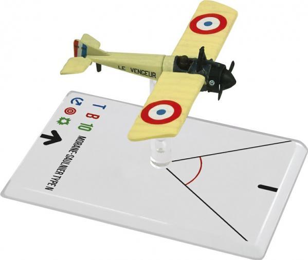 Wings Of Glory WWI Miniatures: Morane-Saulnier Type N (Gilbert )