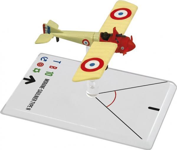 Wings Of Glory WWI Miniatures: Morane-Saulnier Type N (Navarre)