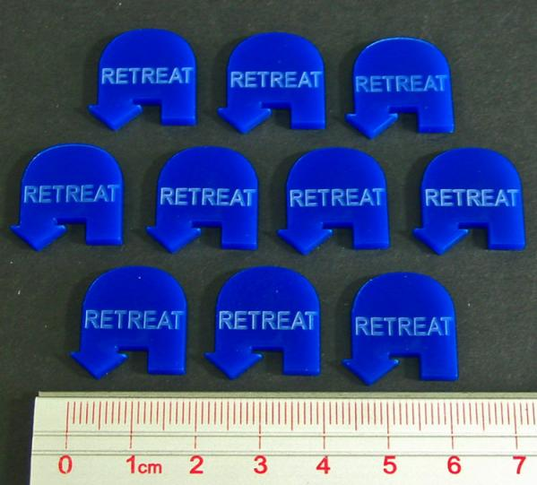 Blue Retreat Tokens (10)