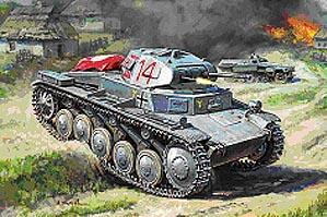 1/100 World War II: German Light Tank - Pz.Kpfw. II