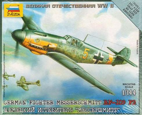 1/144 World War II: German Fighter - Messerschmitt BF-109