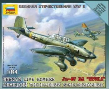 10mm World War II: German Dive Bomber - Ju-87 B2 �Stuka�