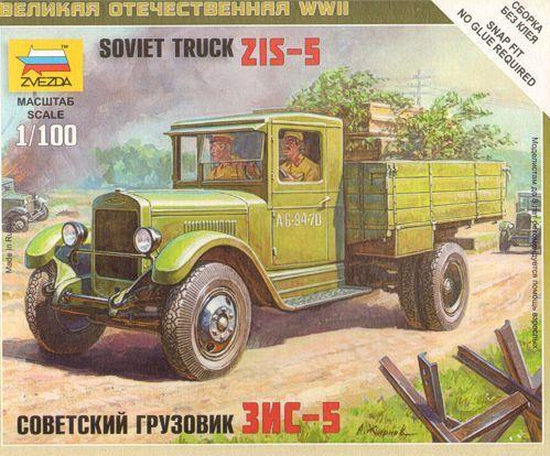 15mm World War II: Soviet Truck - ZIS-5