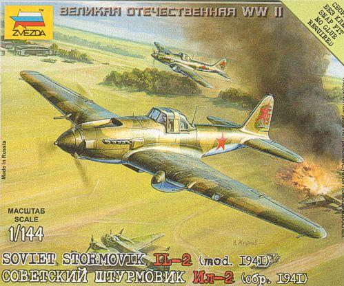 1/144 World War II: Soviet Stormovik - IL-2