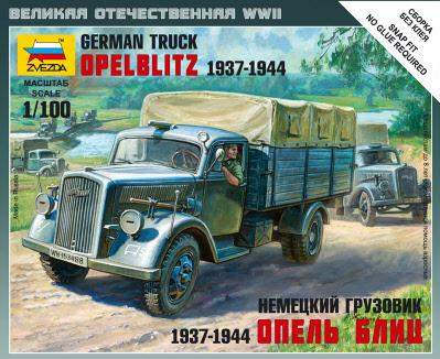 15mm World War II: German 3t Truck Opel Blitz