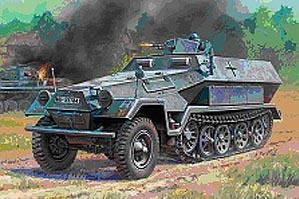 15mm World War II: German Halftrack - SD.KFZ. 251/1 Ausf. B