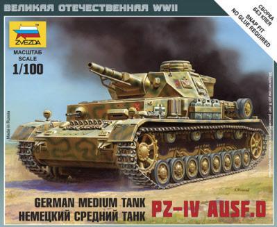 15mm World War II: German Medium Tank - Pz.Kpfw. IV Auf. D