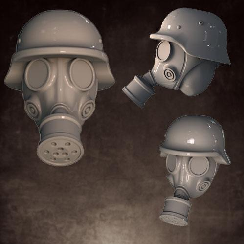 Head Swaps: Gas Mask, Rolled Helmet (5)