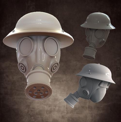 Head Swaps: Gas Mask, Pan Helmet (5)