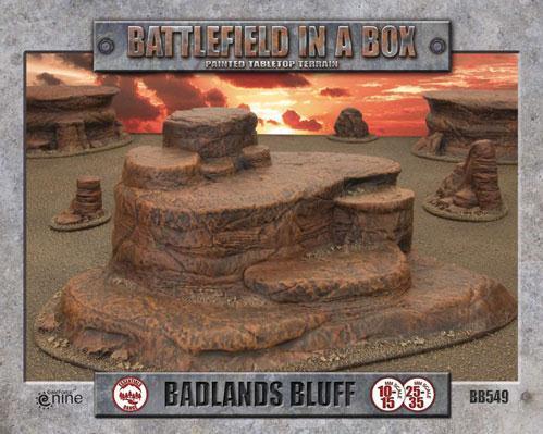 Battlefield in a Box: Badlands Bluff - Mars (x1) - 30mm