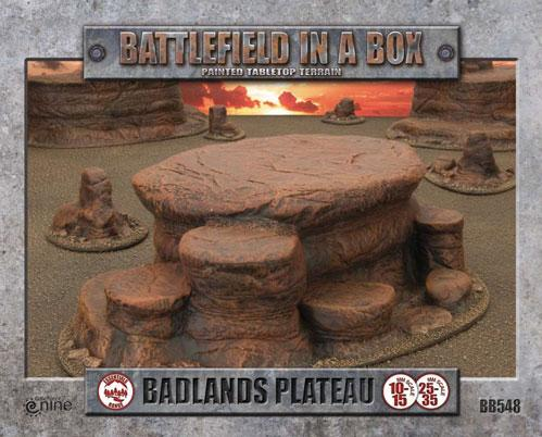 Battlefield in a Box: Badlands Plateau - Mars (x1) - 30mm