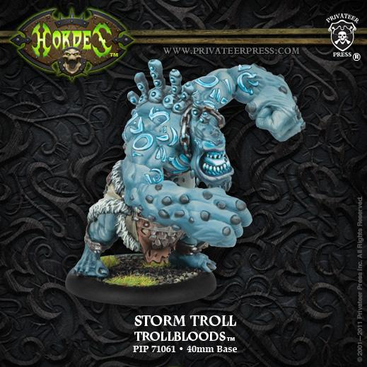 (Trollbloods) Storm Troll Light Warbeast