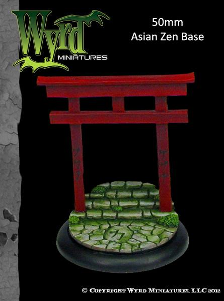 Malifaux: (Bases) Asian Zen 50mm