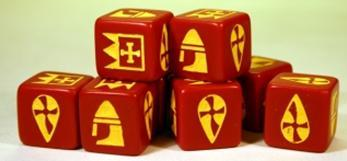 SAGA: Viking Age: (Norman) Dice (8)
