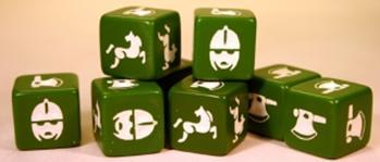SAGA: Viking Age: (Anglo-Danish) Dice (8)