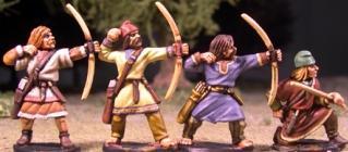 SAGA: Viking Age: (Anglo-Saxon) Geburs w/Bows (Levy)