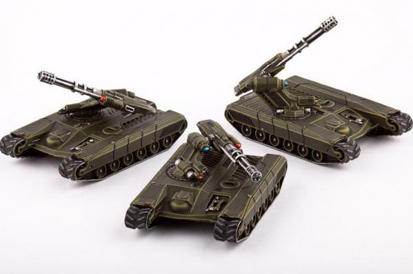 (United Colonies Of Mankind) Rapier AA Tanks (3)