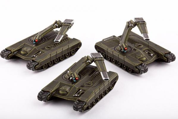 (United Colonies Of Mankind) Sabre Main Battle Tanks (3)