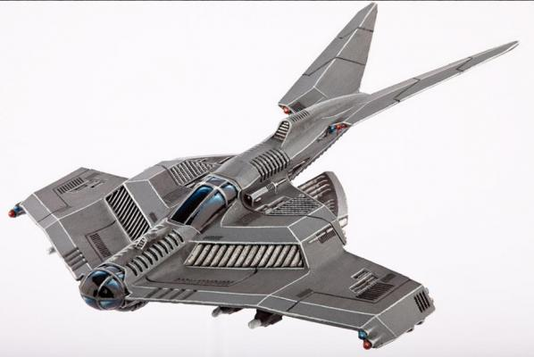 Dropzone Commander: (United Colonies Of Mankind) Seraphim Strike Fighter (1)