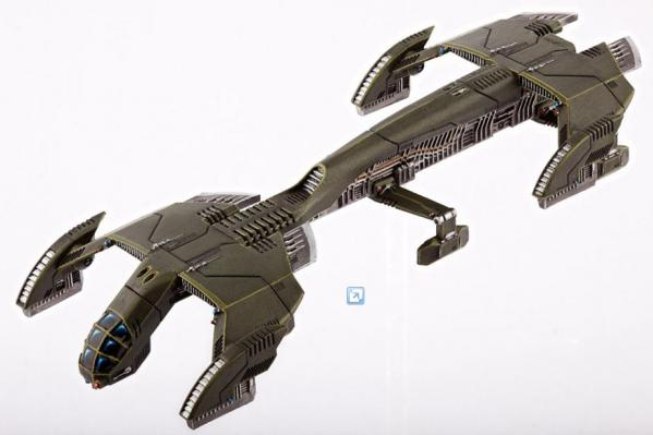 Dropzone Commander: (United Colonies Of Mankind) Condor Medium Dropship (1)